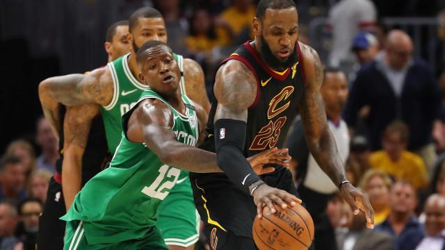 Cavaliers atropela o Celtics e vence a 1ª na decisão do Leste da NBA