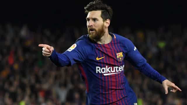 Recorde! Messi conquista a Chuteira de Ouro pela quinta vez