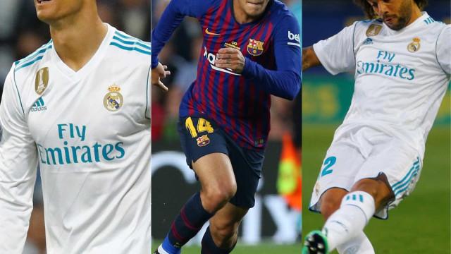 Barça e Real somam 29 jogadores convocados para a Copa; veja a lista