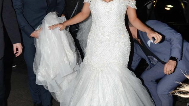 Lexa mostra vestido de R$ 150 mil destruído após casamento com Guimê