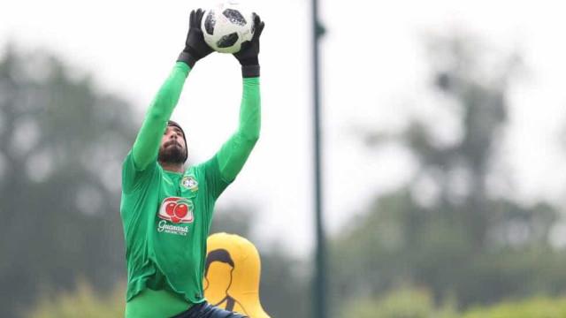 Goleiros da Seleção Brasileira vão a campo logo pela manhã