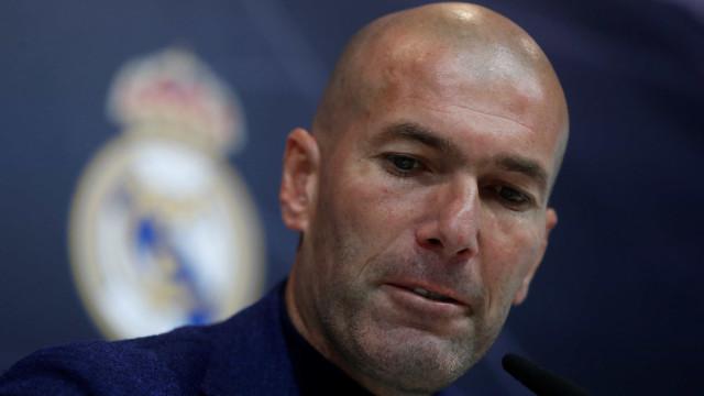 Emissora revela mensagem de Zidane ao elenco do Real Madrid