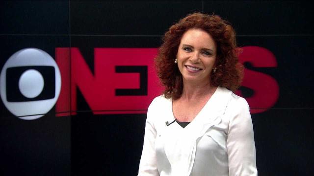 Celular toca durante programa da Globo News e jornalista passa sufoco