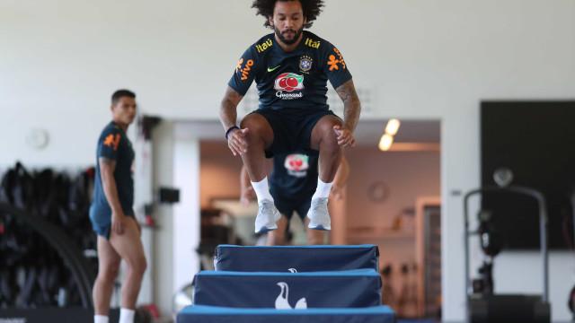 Veja como foi a manhã de quarta-feira da seleção brasileira; fotos!