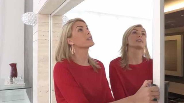 Ana Hickmann volta a surpreender com sala de TV 'secreta' da sua mansão