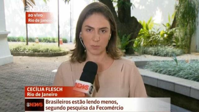 Equipe da Globonews é agredida a pedradas ao vivo no Rio