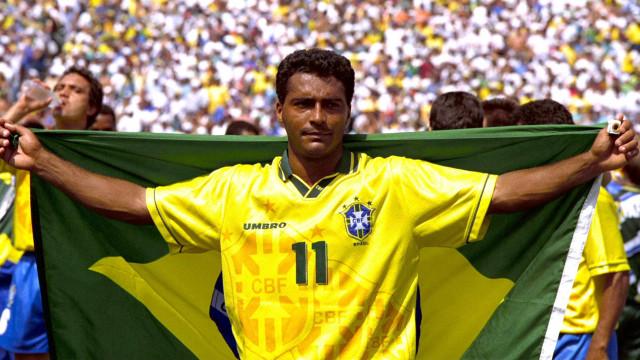 Romário: 'Marquei 55 gols em 74 jogos. Neymar marcou 55 em 85 jogos'
