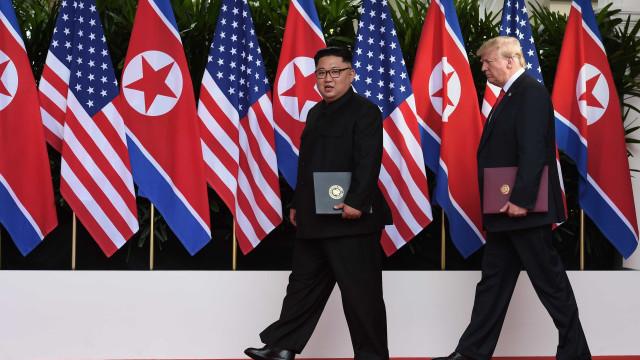 Donald Trump critica Obama após encontro com Kim