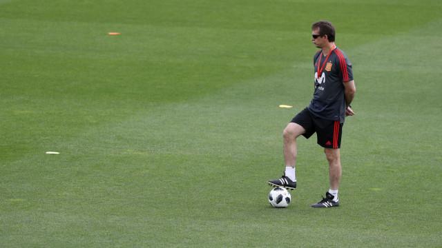 Espanha demite técnico a dois dias da estreia na Copa