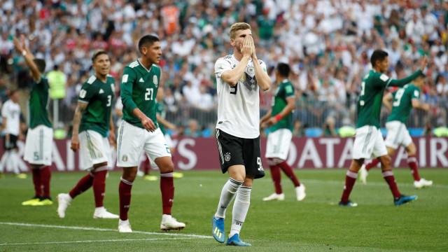 Arriba! México vence a Alemanha e cala os atuais campeões em Moscou