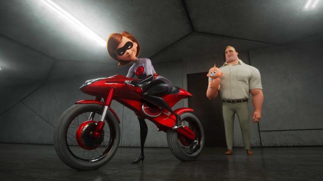 'Os Incríveis 2'  é a maior estreia de uma animação na história