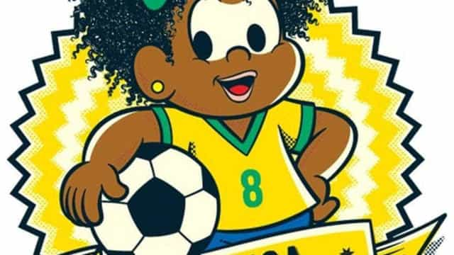 Jogadora Formiga vira personagem da 'Turma da Mônica'