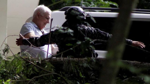 Ex-presidente do Panamá cumprirá pena em penitenciária comum