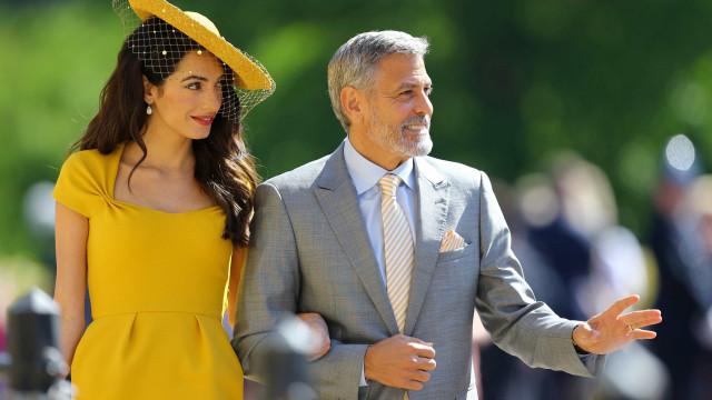 Clooney doa R$ 378 mil para ajudar crianças separadas dos pais nos EUA