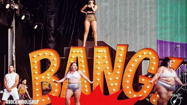 Anitta canta 'Garota de Ipanema' no Rock in Rio Lisboa