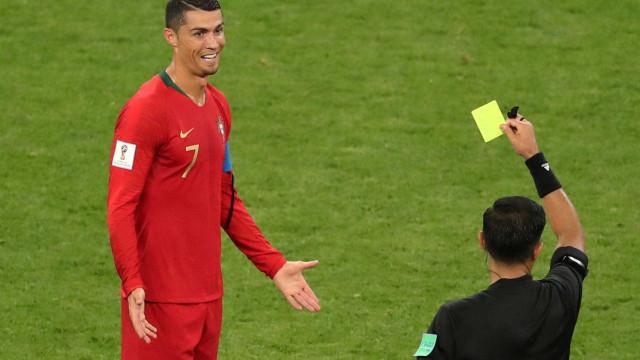 Portugueses reclamam de VAR após empate com o Irã