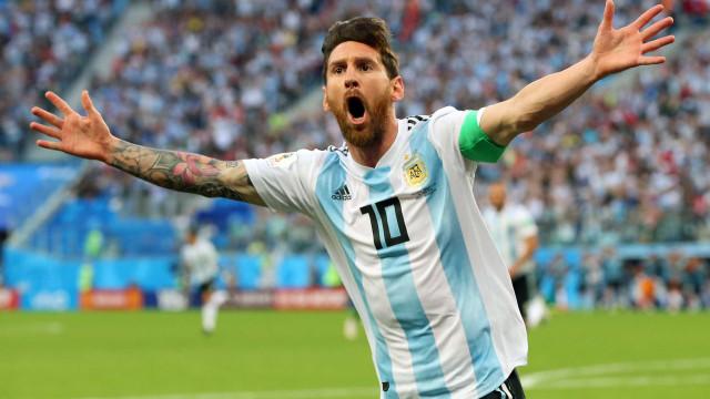 Argentina vence a Nigéria no sufoco e vai às oitavas da Copa do Mundo