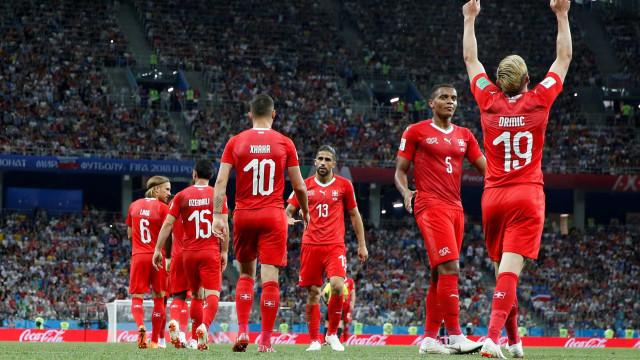Suíça vence Costa Rica e fica em segundo no Grupo do Brasil