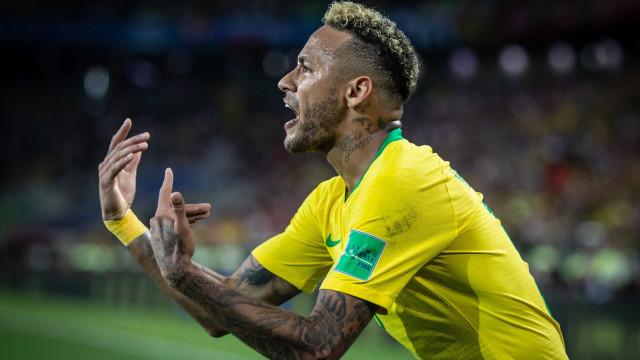 Neymar foi o jogador que mais finalizou na fase de grupos da Copa