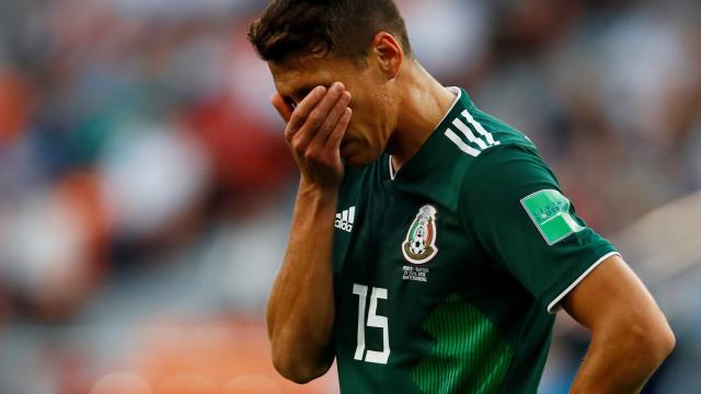 Preocupação no México: jogadores estão gripados e com muita tosse