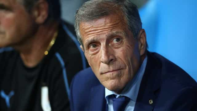Tabárez quer Uruguai 'jogando como for conveniente' contra França
