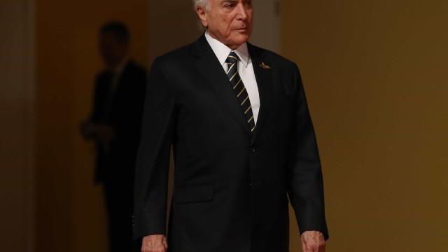 Temer telefona para presidente eleito do México para parabenizá-lo