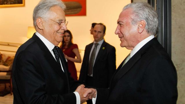Encontros de Doria e FHC com Temer irritam aliados de Alckmin