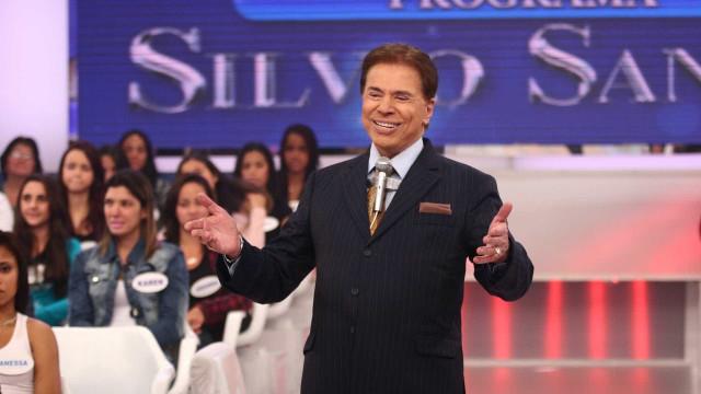 Silvio Santos perde voz e interrompe gravação de seu programa no SBT