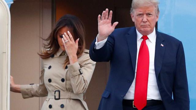 Visita de Trump coloca 'American Idiot' entre mais ouvidas