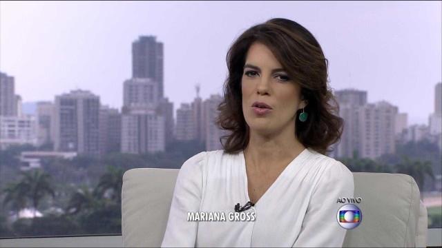 Mariana Gross estreia ao lado de Chico Pinheiro no 'Bom Dia Brasil'