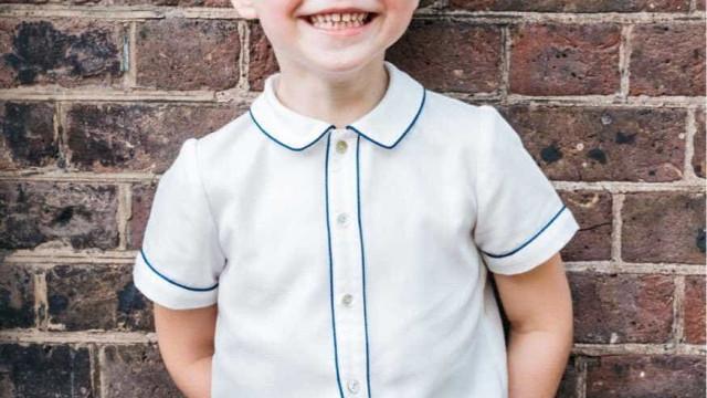 Nova foto do príncipe George, que faz 5 anos neste domingo, é divulgada