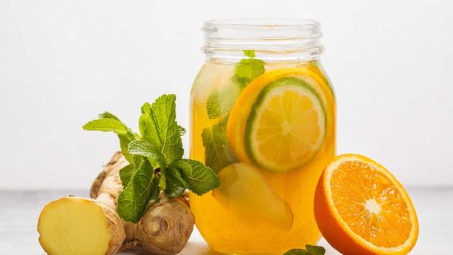 Chá Gelado de Laranja é termogênico e ajuda a eliminar gordurinhas