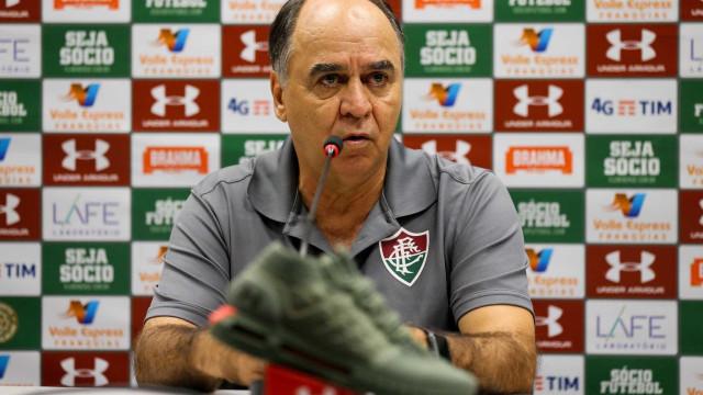 Marcelo Oliveira exalta vitória do Fluminense: 'Foi quase uma goleada'