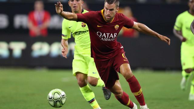 Malcom marca, mas Barcelona perde de virada para a Roma nos EUA