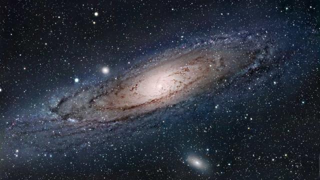 NASA publica imagem da 'irmã mais velha' da Via Láctea