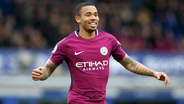 Gabriel Jesus assina contrato de renovação com o Man City até 2023