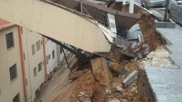 Sob risco de desabar, prédio é evacuado na Vila Mariana, zona sul de SP
