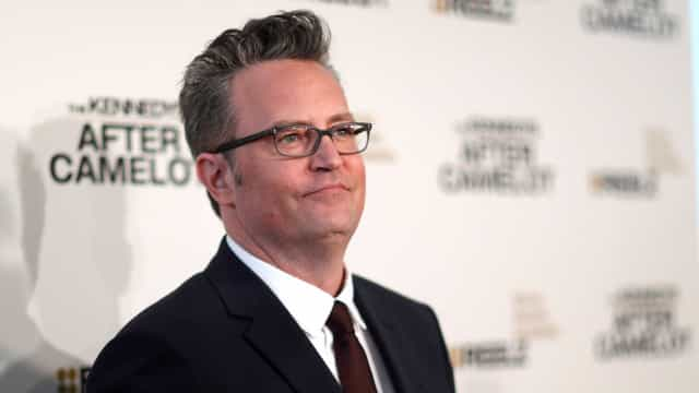 Matthew Perry, ator de 'Friends', é internado com intestino perfurado