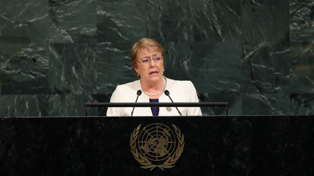 Bachelet é indicada para ser chefe de direitos humanos da ONU