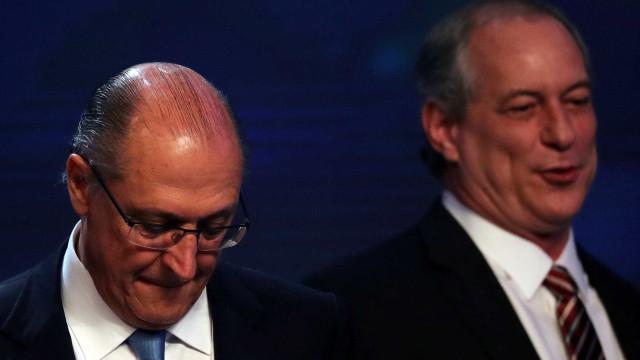 Alckmin diz ser 'bom sinal' ser alvo: 'Perigo é ser esquecido'