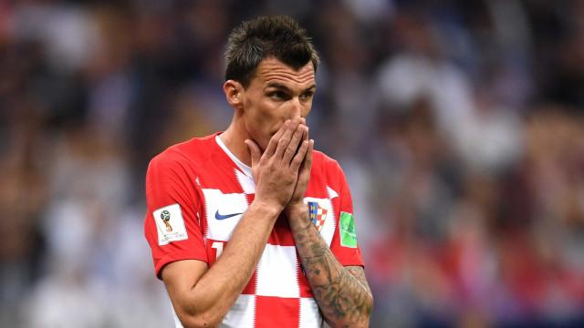 Após vice na Copa, Mandzukic se aposenta da seleção croata aos 32 anos