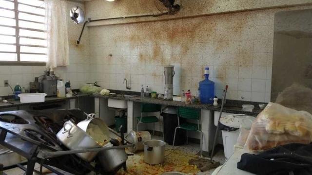 Panela de pressão explode em escola e merendeiras ficam feridas