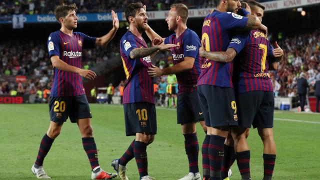 Com gols de Messi e Coutinho, Barcelona vence 1ª partida do Espanhol