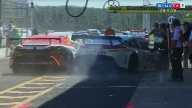 Atropelamento nos boxes deixa três feridos em corrida no MS