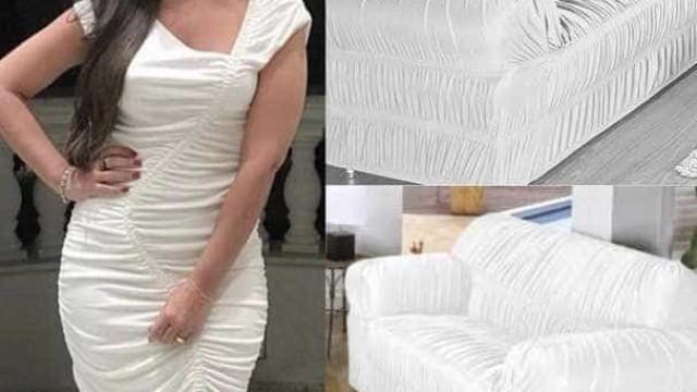Look de Thais Fersoza é comparado a sofá por internautas