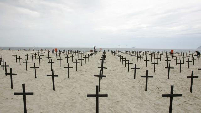 Brasil registra mais de 26 mil assassinatos em apenas seis meses