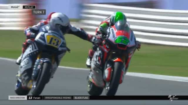 Piloto é demitido após apertar o freio de rival a 200 km/h na MotoGP