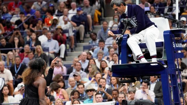 'Não existe arbitragem à la carte', diz juiz criticado por Serena