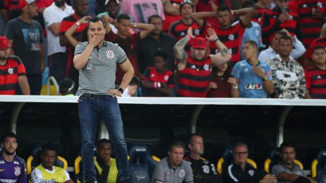 Jair Ventura destaca evolução do Corinthians: 'Deixamos de sofrer gols'