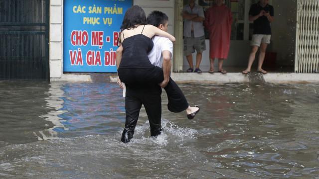 Três mulheres morrem nas Filipinas e em Taiwan devido ao furacão